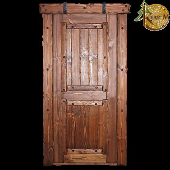 """Дверь """"Добряк""""1 межкомнатная с элементами ковки"""